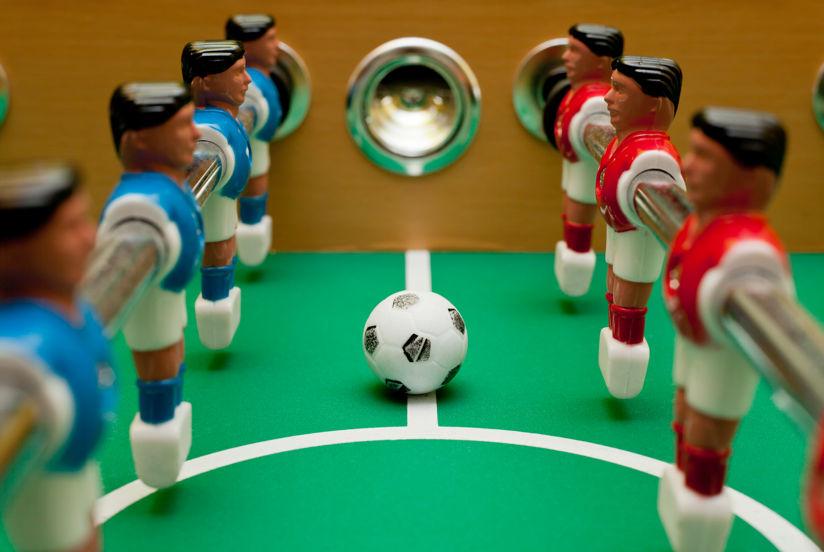 Tipos de mesas de futbolín